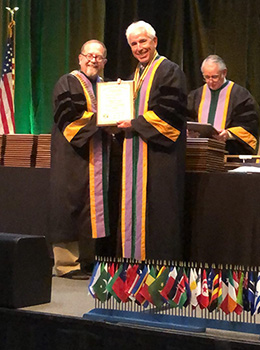dr steely Fellow of The International College of Dentists